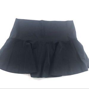 Victorias Secret Swim Skirt Cover Up Black Small